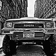 Pick Up Truck On A New York Street Art Print by John Farnan