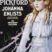 Pickford Film Poster, 1918 Art Print