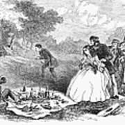 Picnic, 1859 Art Print