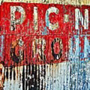 Picnic Ground Art Print