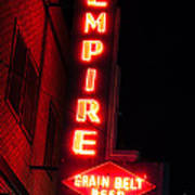 Picture Of Empire Tavern And Liquors Sign Fargo Nd Art Print