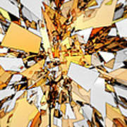 Pieces Of Gold Art Print