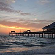 Pier 60 Clearwater Beach Florida Art Print