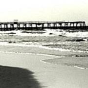 Jacksonville Beach Florida Pier 1997 Art Print