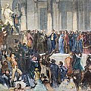 Pierce Inauguration Art Print by Granger