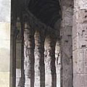 Pilars In Rome Art Print