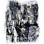 Pile Of Crushed Cardboard  For Recycling Art Print