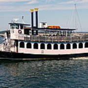 Pilgrim Belle Harbor Cruise Art Print