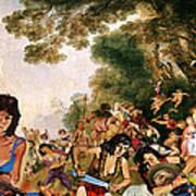 Pilgrimage To The Isle Of Dangerous Women Art Print