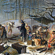 Pilgrims: First Winter, 1620 Art Print