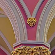 Pillar Details Art Print
