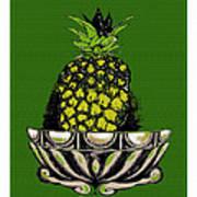 Pineapple Study  Art Print