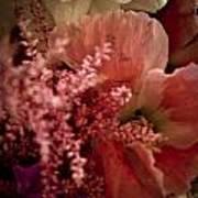 Pink Arrangement Art Print