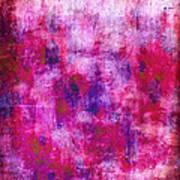 Pink Blueberries Art Print