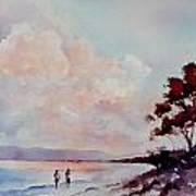 Pink Dawn Art Print by Bobbi Price