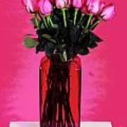 Pink In Pink Art Print