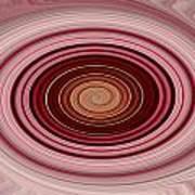 Pink Vortex Art Print