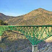 Pioneer Bridge Art Print by Loree Johnson