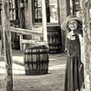 Pioneer Lady Art Print