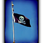Pirate Flag Art Print