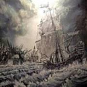 Pirate Islands 1 Art Print