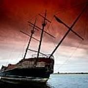 Pirate Ship 2 Art Print