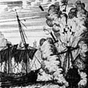 Pirate Ships Art Print