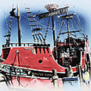 Pirates Ransom - Clearwater Florida Art Print