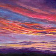 Pisgah Sunset Art Print