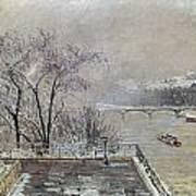 Pissarro: Louvre, 1902 Art Print