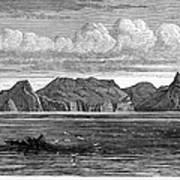 Pitcairn Island, 1879 Art Print