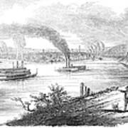 Pittsburgh, 1853 Art Print
