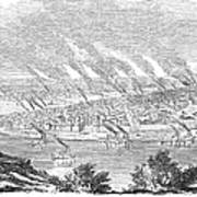 Pittsburgh, 1855 Art Print