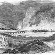 Pittsburgh: Fire, 1845 Art Print