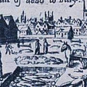 Plague, 1665 Art Print