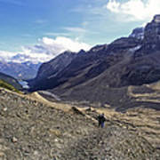 Plain Of Six Glaciers Trail - Lake Louise Canada Art Print