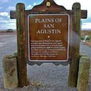 Plains Of San Agustin Art Print