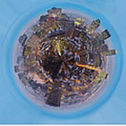 Planet Wee Montreal Quebec Art Print