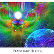 Planetary Helper Print by Jeff Haworth