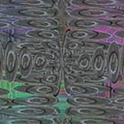 Platter Pandemonium Art Print