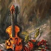 Play Me A Love Song Art Print