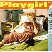 Playgirl, Shelley Winters, 1954 Art Print by Everett