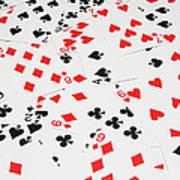 Playing Cards Art Print