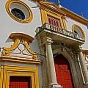 Plaza De Toros De La Maestranza - Seville  Art Print