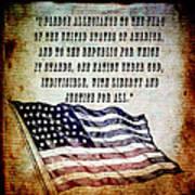 Pledge Art Print
