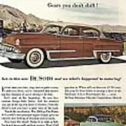 Plymouth De Soto 1953 Art Print