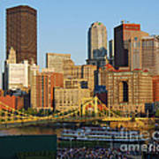 Pnc Park And River Boat Art Print