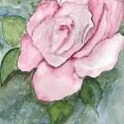 Pnk Rose Art Print