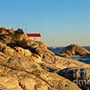 Point Atchison Lighthouse 2 Art Print