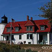 Point Betsie Light Station Art Print